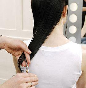 Cómo cuidar el pelo largo - Cortar puntas